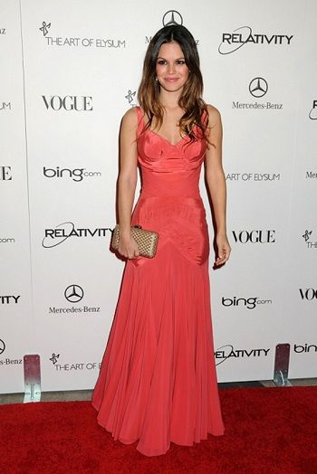 Rachel Bilson wears Zac Posen at Art of Elysium Heaven Gala Jan 15