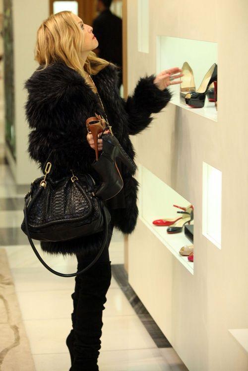 Rachel Zoe Out Shopping At Barneys New York