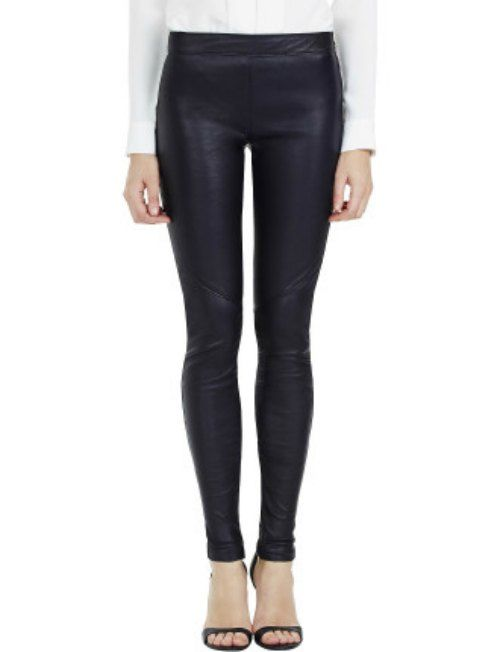 Rebecca Vallance leather leggings at David Jones $799