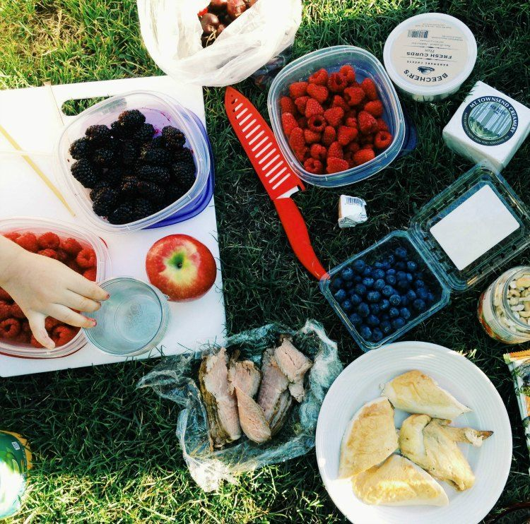 Relaxed Racing Picnic