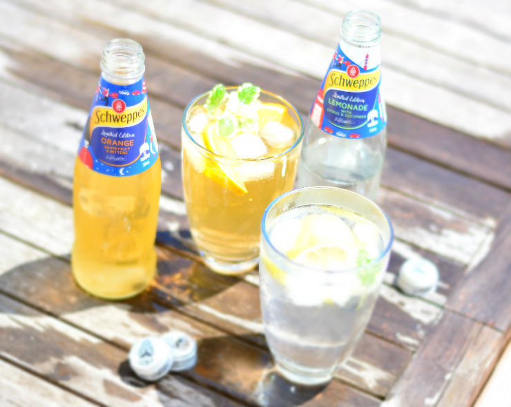 Schweppes Limited Edition Mixers