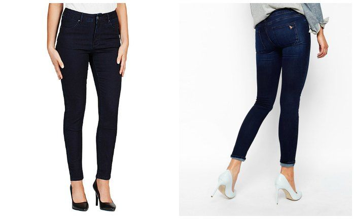 Left: Dannii Minogue for Target, $59. Right: Mih Jeans at ASOS $337