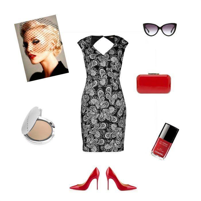 Spring races inspiration: Dress: Katies / Shoes: Louboutin / Nailpolish: Chanel / Clutch: ASOS / Sunglasses: Celine / Compact: Chantecaille
