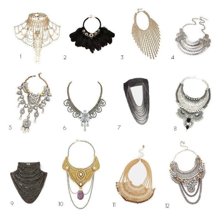 Statement Necklace Shopping Options BWA