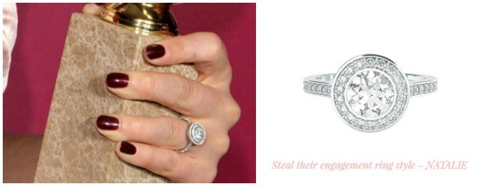 Steal Their Engagement Ring Style - Natalie
