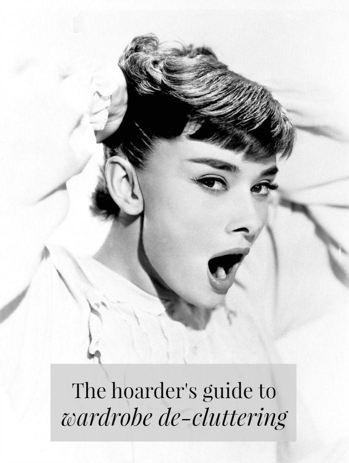 The hoarder's guide to wardrobe de-cluttering