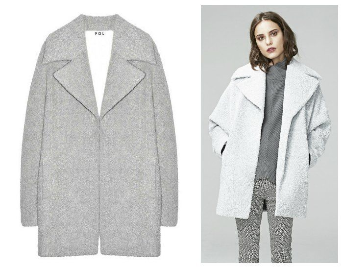 POL 'MOSS' COAT was: $379.00 AUD $359.00 AUD