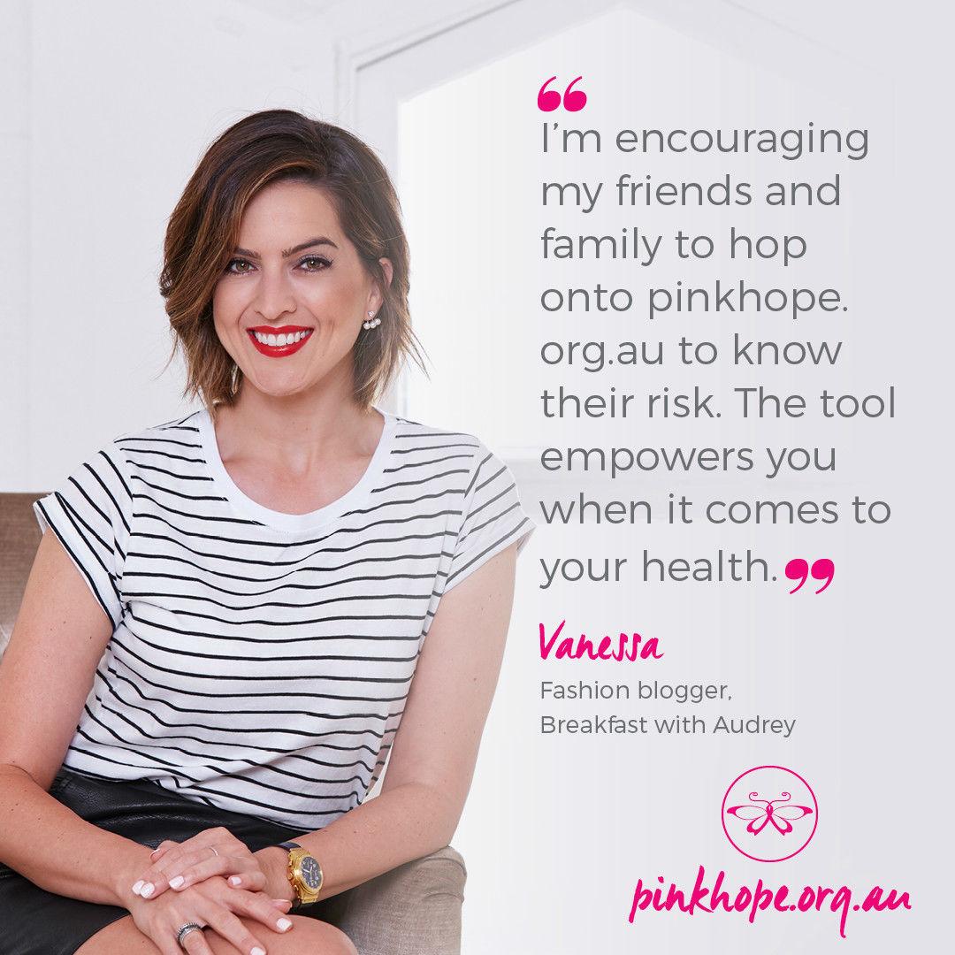 Vanessa Roberts Pink Hope Testimonial