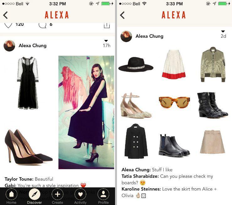 Villoid app alexa chung