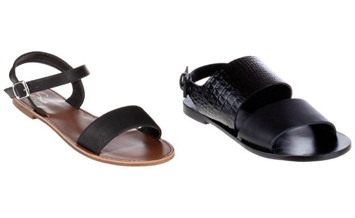 Left: Vegan Leather at theiconic.com.au $19.95, Right: Camilla at theiconic.com.au $89.95