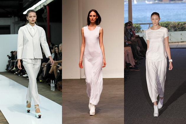 RAFW 2011 Trend Rundown White