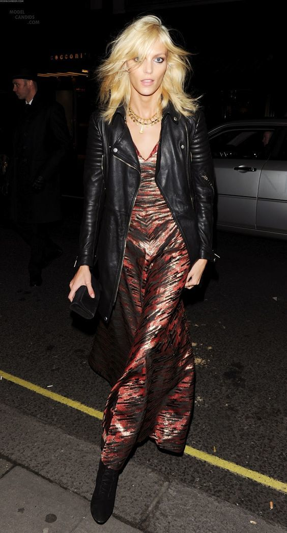 anja rubik street style leather jacket
