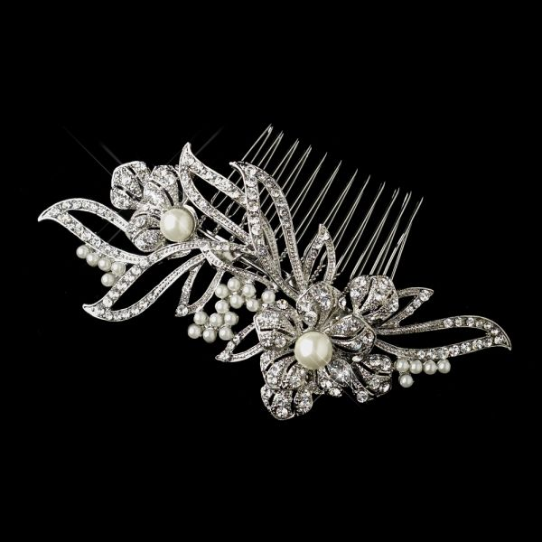 wedding hairstyles The Astor side comb, $129 from Glamadonna