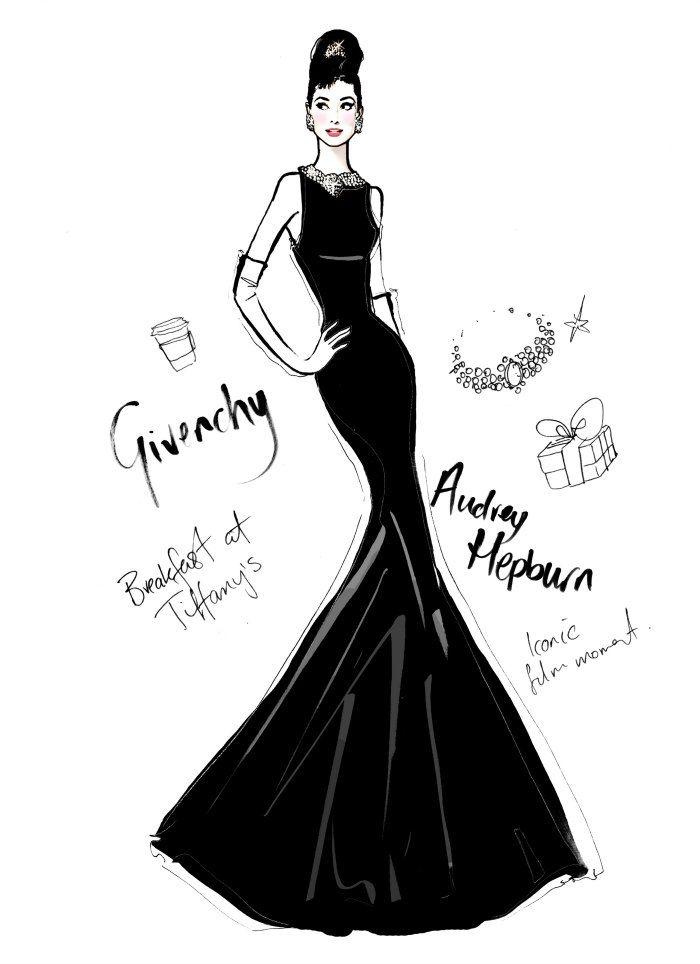 audrey hepburn megan hess illustration