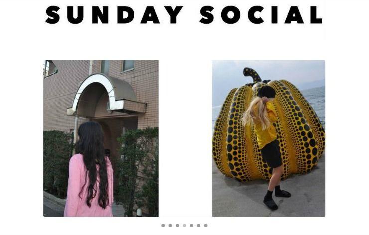 best online shopping sunday social