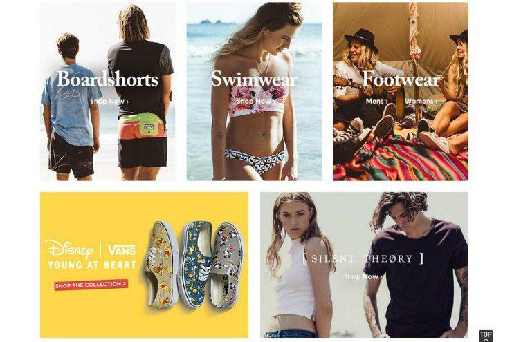best online shopping surfstitch
