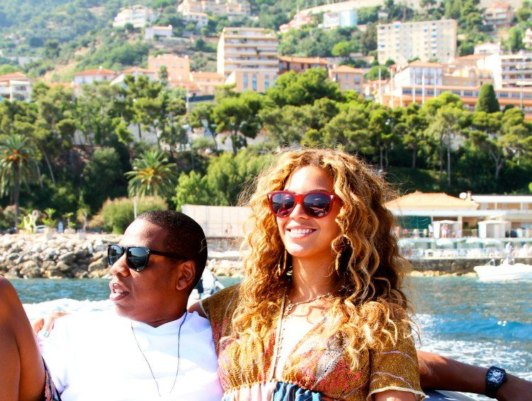 beyonce in st tropez
