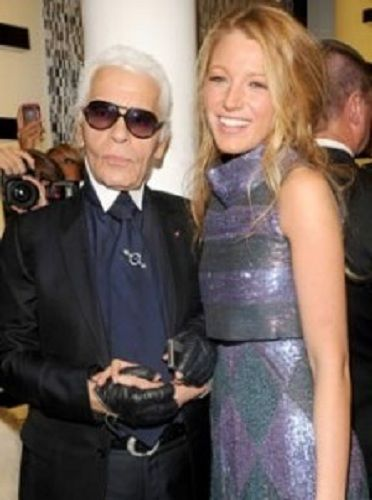 blake-lively-and-karl-lagerfeld