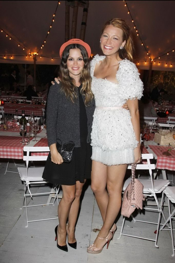 0dced87a8e0 Blake Lively and Rachel Bilson At The Chanel Cruise Pre-Show Dinner