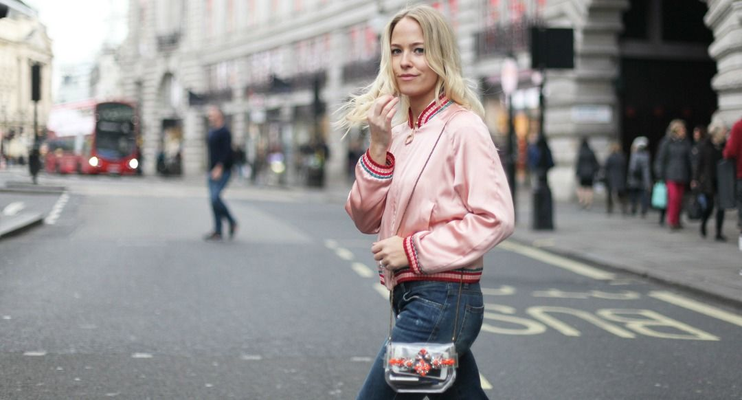 bomber jacket street style inspiration