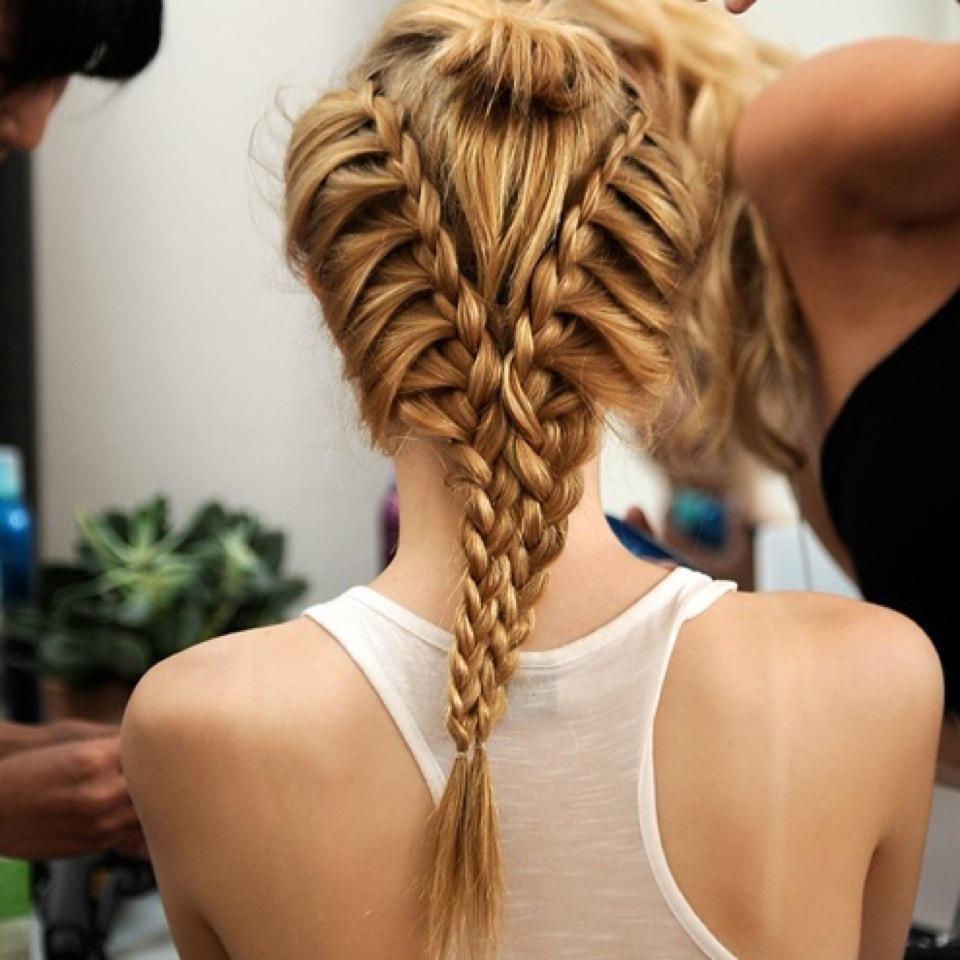 2015 Braid Hairstyles - Back