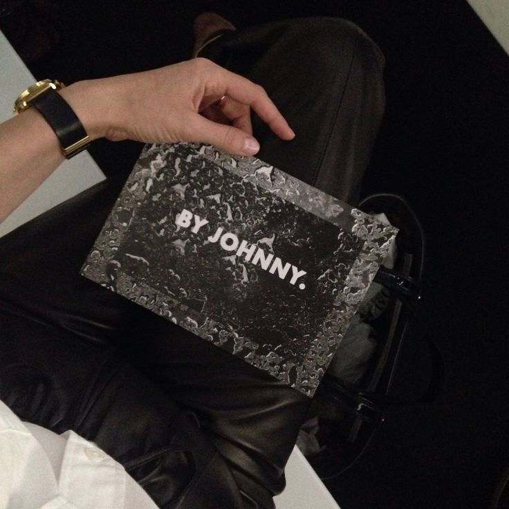 Waiting for the By Johnny show to kick off on Day One at MBFWA.