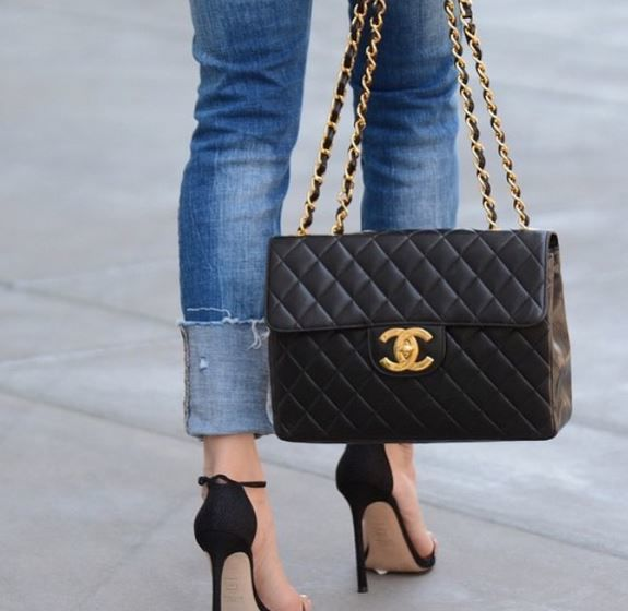 chanel bag via luxe.it.fwd designer bags for less