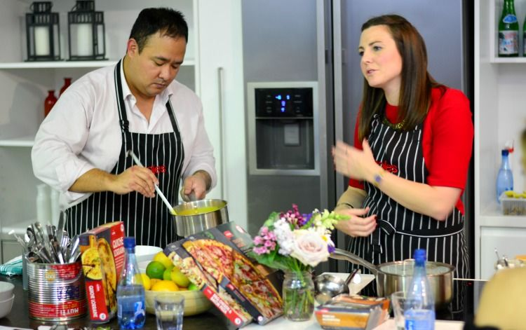 coles ready meals launch breakfast with audrey