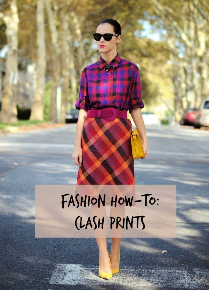 Fashion How-to: Clash Prints