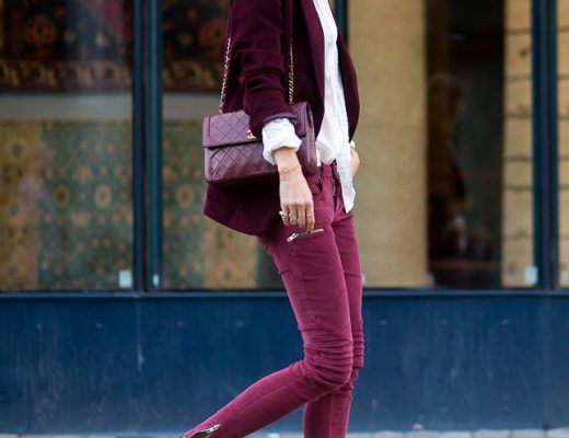 fashion tips how to wear merlot 3