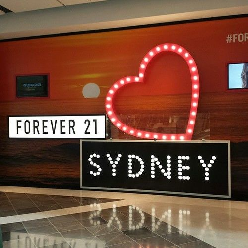 Forever 21 opens in Sydney at Macquarie Centre