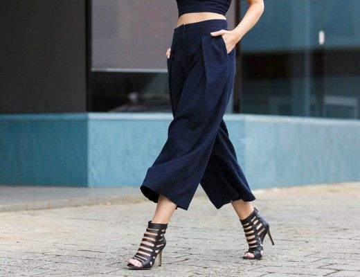 how to wear culottes street style feature