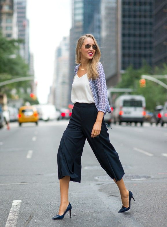 How To Wear Culottes 2016