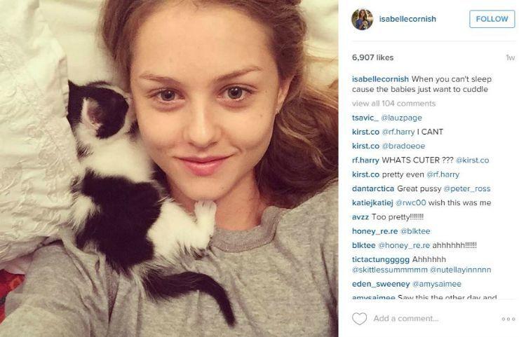 model instagram accounts