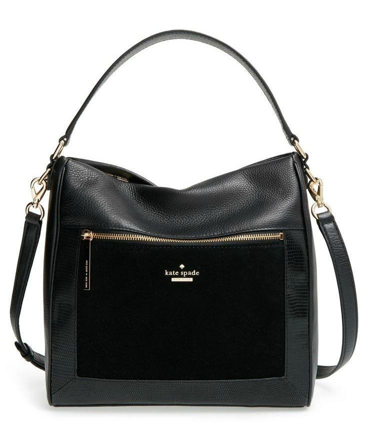 kate spade work bag in black
