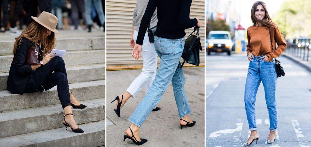 kitten-heel-outfits-street-style