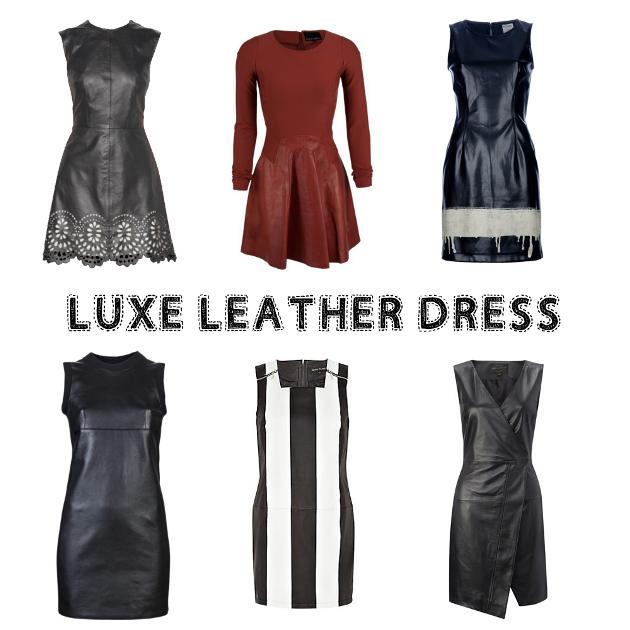 luxeleatherdress