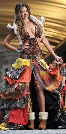 miss universe Australia costume