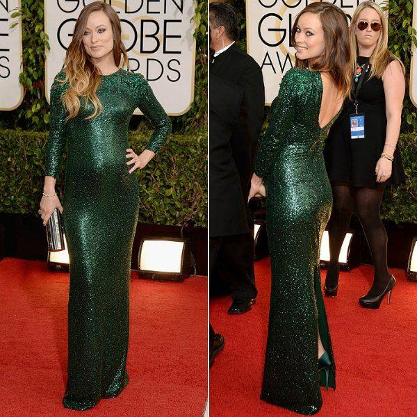 olivia wilde pregnant style