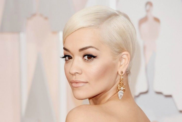 platinum hair inspiration rita ora