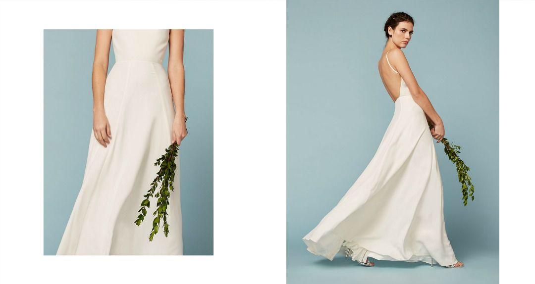 5 Affordable, Eco-friendly Dresses For The Effortless Bride ...