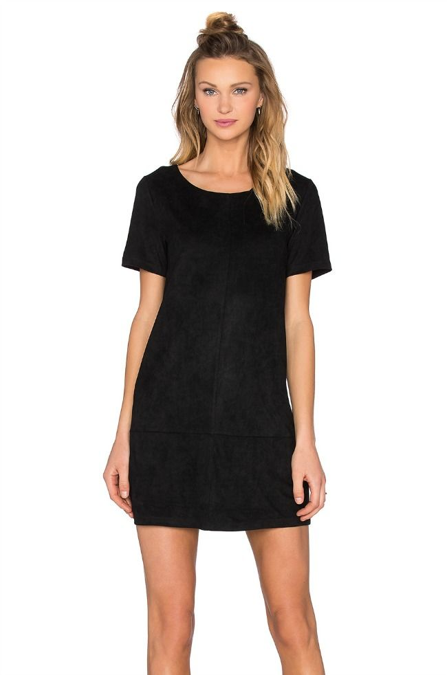 suede shift dress fro revolve