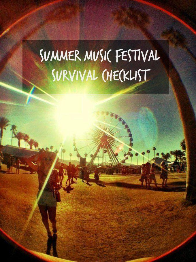 BWA's Summer Music Festival Survival Checklist