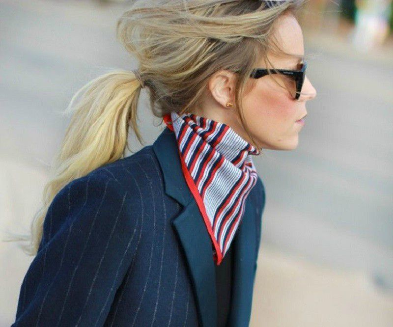 the neckerchief trend breakfast with audrey australian style blog