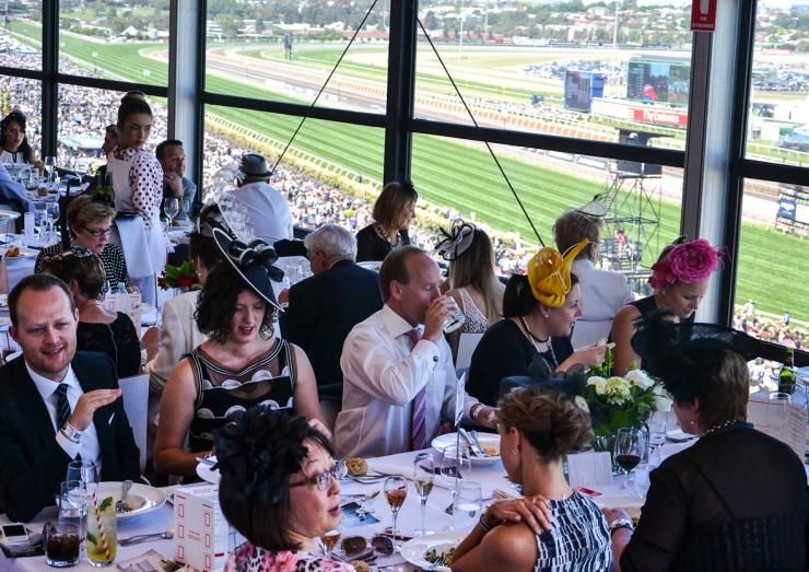 the rose room at flemington