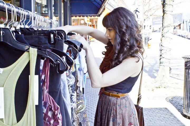 Op-shop-Shopping.. Image via littlebirdlee.com