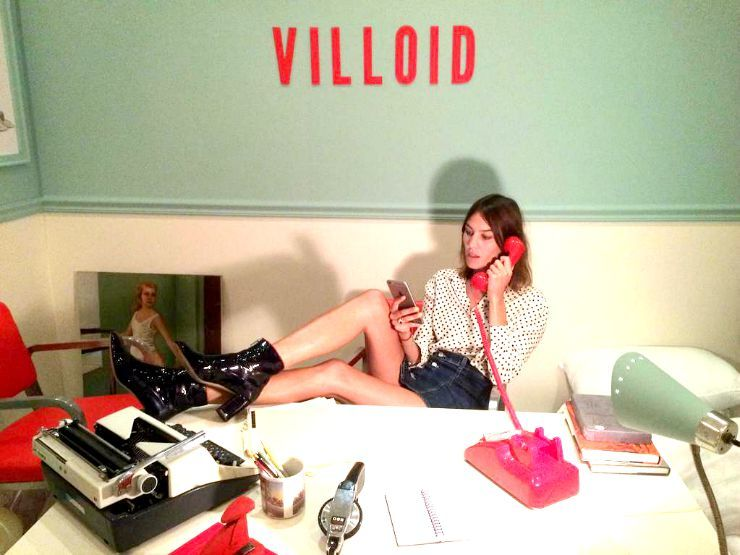 villoid alexa chung app photo