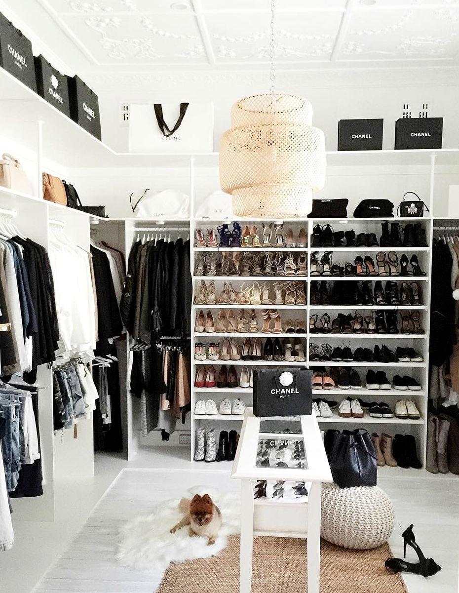 Wardrobe goals! Credit: @missgunner