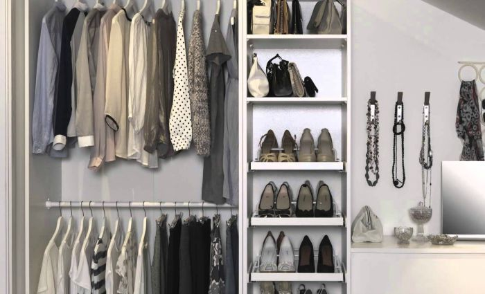 wardrobe space saving ideas for the home