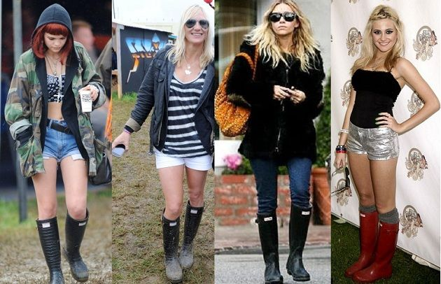 Trend How-To: Wellington Boots
